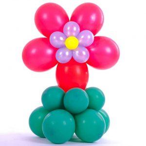 Ballon Ballonnen tafeldecoratie communie bloem Sint-Truiden Hoeselt