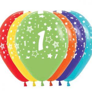 Ballon Ballonnen verjaardag 1 jaar Sint-Truiden Hoeselt