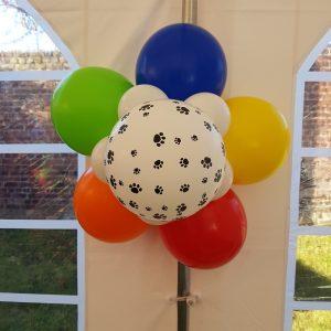 Ballon Ballonnen geschenk decoratie deurbloem communie geboorte doop Sint-Truiden Hoeselt