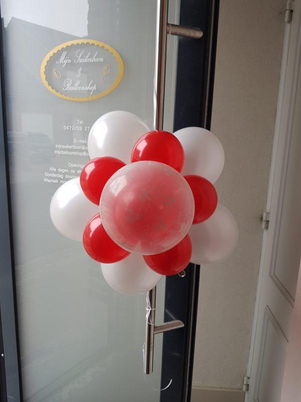 Ballon Ballonnen geschenk decoratie deurbloem verjaardag Sint-Truiden Hoeselt