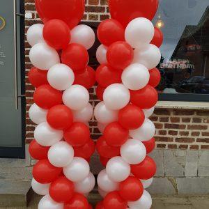 Ballon Ballonnen geschenk decoratie verjaardag pilaar Sint-Truiden Hoeselt