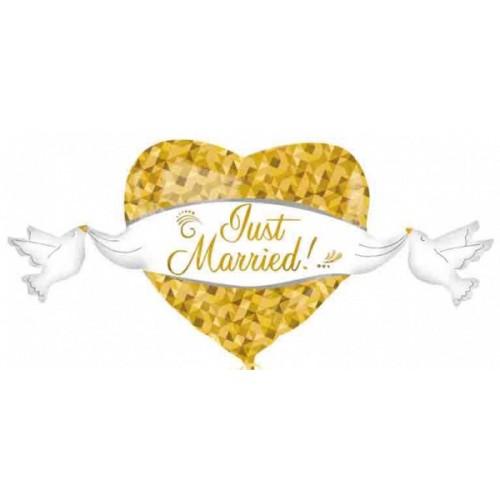 Ballon Ballonnen geschenk decoratie huwelijk hart Sint-Truiden Hoeselt