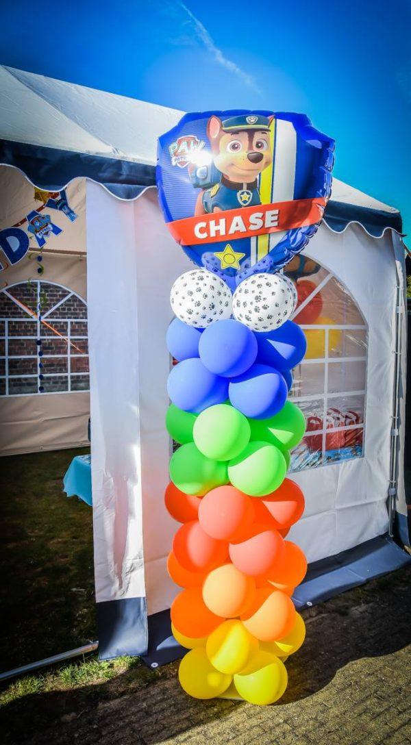 Ballon Ballonnen verjaardag pootjes paw patrol Sint-Truiden Hoeselt