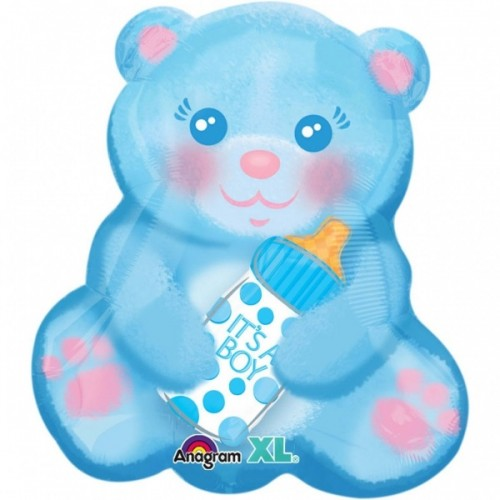 Ballon Ballonnen beer blauw jongen Sint-Truiden Hoeselt