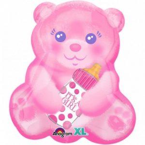 Ballon Ballonnen geboorte roze it's a girl beer Sint-Truiden Hoeselt