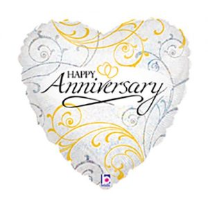 Ballon Ballonnen geschenk decoratie huwelijksverjaardag hart Sint-Truiden Hoeselt