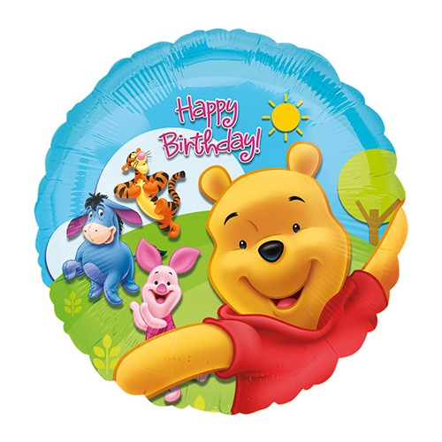 Ballon Ballonnen geschenk decoratie winnie the pooh Sint-Truiden Hoeselt