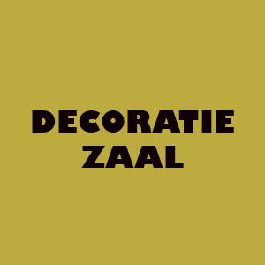 Decoratie zaal