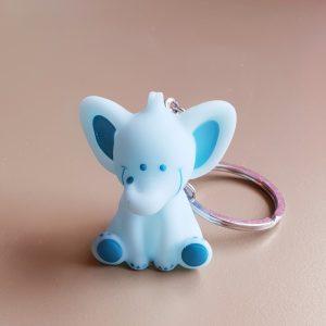 doopsuiker bedankjes geboorte babyborrel sint-truiden hoeselt olifant blauw sleutelhanger