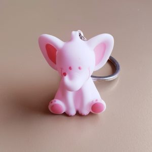doopsuiker bedankjes geboorte babyborrel sint-truiden hoeselt olifant roze sleutelhanger