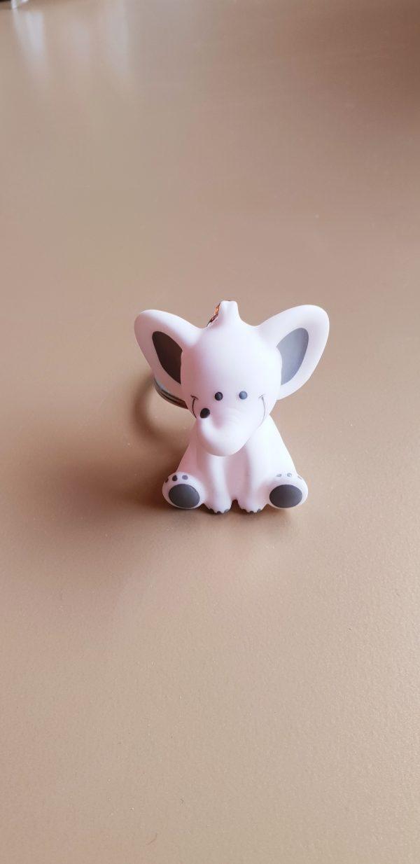 doopsuiker bedankjes geboorte babyborrel sint-truiden hoeselt olifant wit sleutelhanger